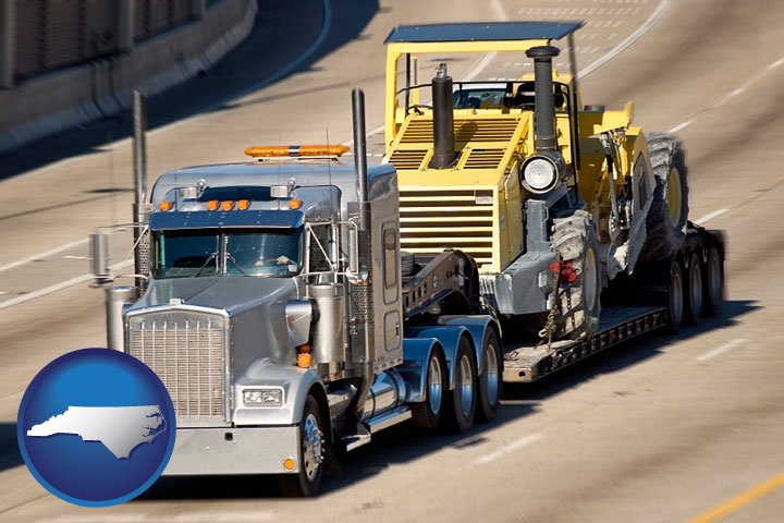Moving Truck Companies >> Heavy Equipment Movers in North Carolina